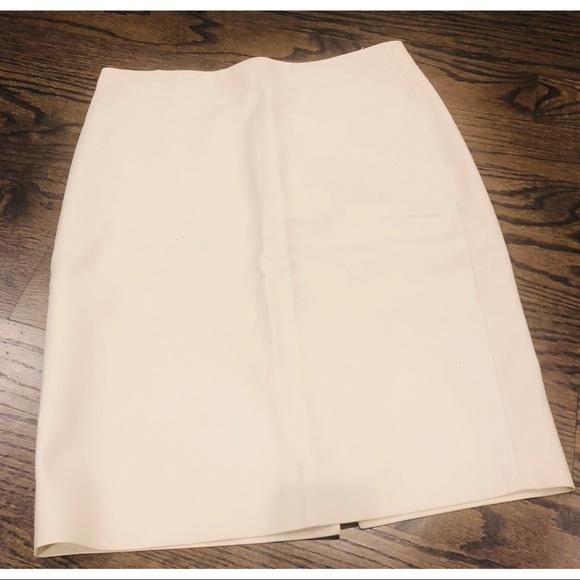 J. Crew Dresses & Skirts - J. Crew Cream Pencil Skirt